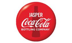 jasper coca cola logo